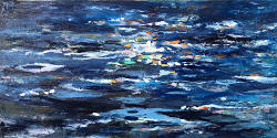 Liturgy of Hope 30 X 60 by Amy Donaldson <br>- Sold -